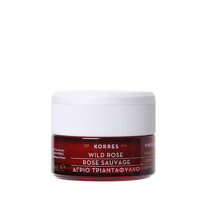 WILD ROSE - WILD ROSE - Brightening & First Wrinkles Day Cream - Dry Skin